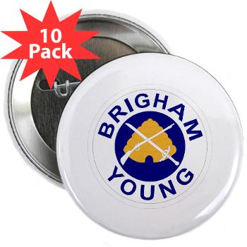 "byu - M01 - 01 - SSI - ROTC - Brigham Young University - 2.25"" Button (10 pack)"