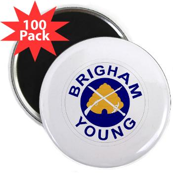 "byu - M01 - 01 - SSI - ROTC - Brigham Young University - 2.25"" Magnet (100 pack)"