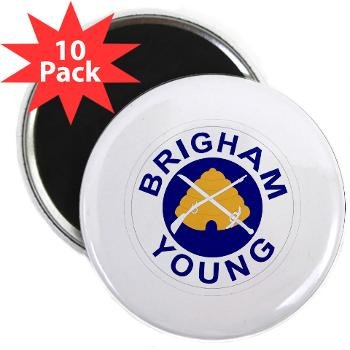 "byu - M01 - 01 - SSI - ROTC - Brigham Young University - 2.25"" Magnet (10 pack)"