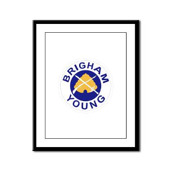 byu - M01 - 02 - SSI - ROTC - Brigham Young University - Framed Panel Print