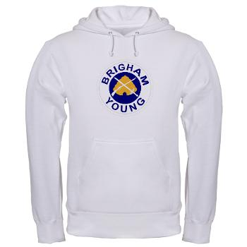 byu - A01 - 03 - SSI - ROTC - Brigham Young University - Hooded Sweatshirt