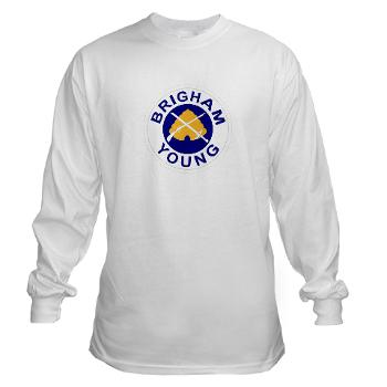 byu - A01 - 03 - SSI - ROTC - Brigham Young University - Long Sleeve T-Shirt