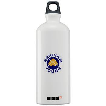 byu - M01 - 03 - SSI - ROTC - Brigham Young University - Sigg Water Bottle 1.0L