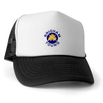 byu - A01 - 02 - SSI - ROTC - Brigham Young University - Trucker Hat