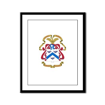 cgsc - M01 - 02 - DUI - Command and General Staff College Framed Panel Print
