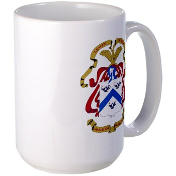 cgsc - M01 - 03 - DUI - Command and General Staff College Large Mug