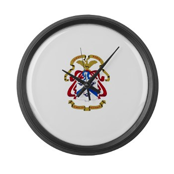 cgsc - M01 - 03 - DUI - Command and General Staff College Large Wall Clock