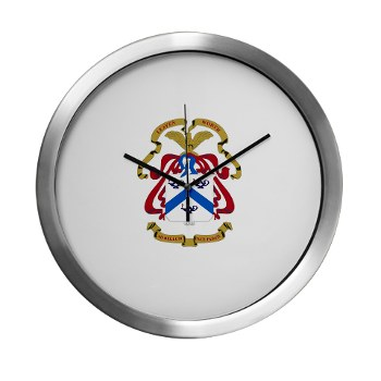 cgsc - M01 - 03 - DUI - Command and General Staff College Modern Wall Clock