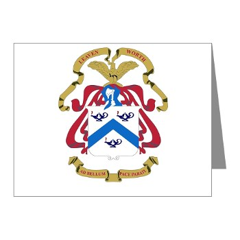 cgsc - M01 - 02 - DUI - Command and General Staff College Note Cards (Pk of 20)