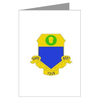 1B347RCSCSS - M01 - 02 - DUI - 1st Bn - 347th Regt CS/CSS Greeting Cards (Pk of 10)