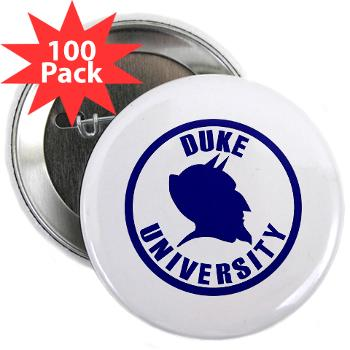"duke - M01 - 01 - SSI - ROTC - Duke University - 2.25"" Button (100 pack)"