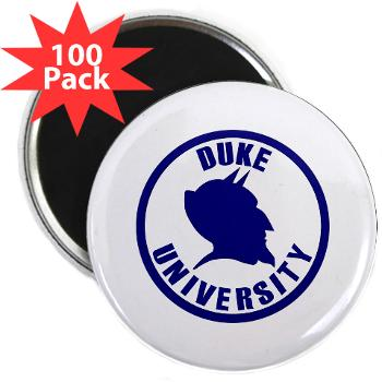 "duke - M01 - 01 - SSI - ROTC - Duke University - 2.25"" Magnet (100 pack)"
