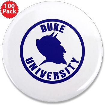 "duke - M01 - 01 - SSI - ROTC - Duke University - 3.5"" Button (100 pack)"