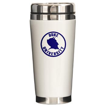 duke - M01 - 03 - SSI - ROTC - Duke University - Ceramic Travel Mug