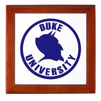 duke - M01 - 03 - SSI - ROTC - Duke University - Keepsake Box