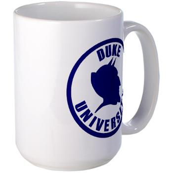 duke - M01 - 03 - SSI - ROTC - Duke University - Large Mug