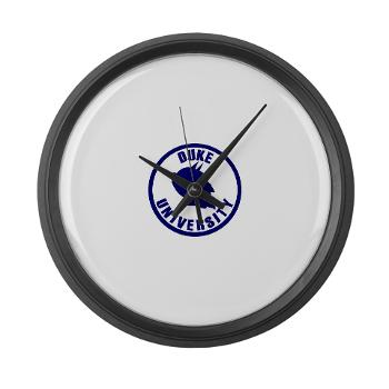 duke - M01 - 03 - SSI - ROTC - Duke University - Large Wall Clock
