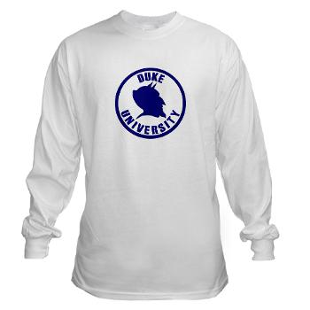 duke - A01 - 03 - SSI - ROTC - Duke University - Long Sleeve T-Shirt