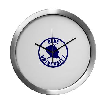 duke - M01 - 03 - SSI - ROTC - Duke University - Modern Wall Clock
