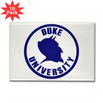 duke - M01 - 01 - SSI - ROTC - Duke University - Rectangle Magnet (10 pack)