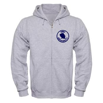 duke - A01 - 03 - SSI - ROTC - Duke University - Zip Hoodie