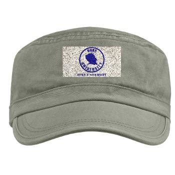 duke - A01 - 01 - SSI - ROTC - Duke University with Text - Military Cap