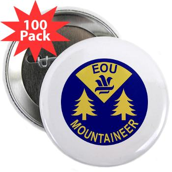 "eou - M01 - 01 - SSI - ROTC - Eastern Oregon University - 2.25"" Button (100 pack)"