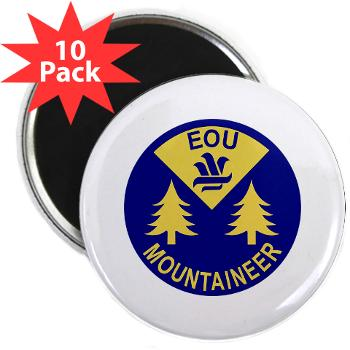 "eou - M01 - 01 - SSI - ROTC - Eastern Oregon University - 2.25"" Magnet (10 pack)"