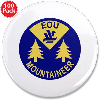 "eou - M01 - 01 - SSI - ROTC - Eastern Oregon University - 3.5"" Button (100 pack)"