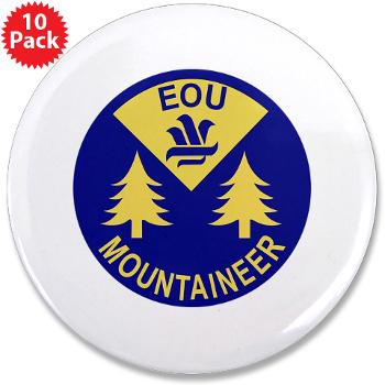 "eou - M01 - 01 - SSI - ROTC - Eastern Oregon University - 3.5"" Button (10 pack)"