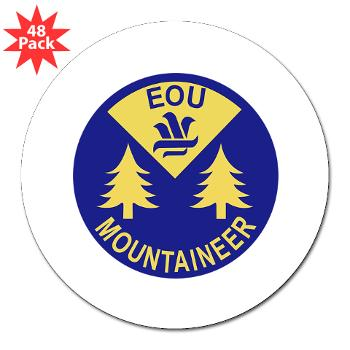 "eou - M01 - 01 - SSI - ROTC - Eastern Oregon University - 3"" Lapel Sticker (48 pk)"
