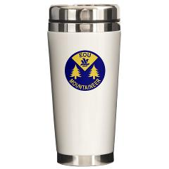 eou - M01 - 03 - SSI - ROTC - Eastern Oregon University - Ceramic Travel Mug