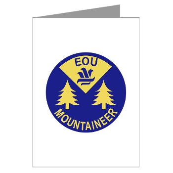 eou - M01 - 02 - SSI - ROTC - Eastern Oregon University - Greeting Cards (Pk of 20)