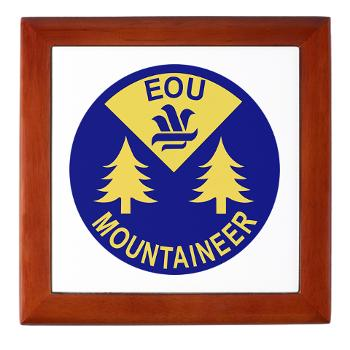 eou - M01 - 03 - SSI - ROTC - Eastern Oregon University - Keepsake Box