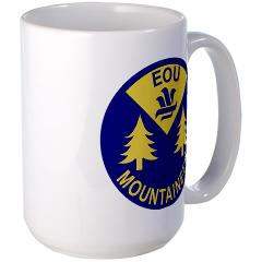eou - M01 - 03 - SSI - ROTC - Eastern Oregon University - Large Mug