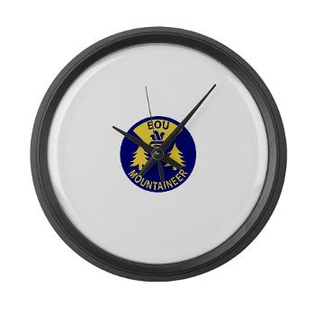 eou - M01 - 03 - SSI - ROTC - Eastern Oregon University - Large Wall Clock