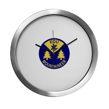eou - M01 - 03 - SSI - ROTC - Eastern Oregon University - Modern Wall Clock