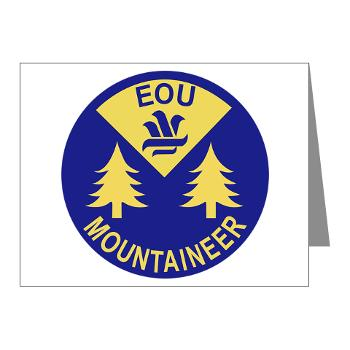 eou - M01 - 02 - SSI - ROTC - Eastern Oregon University - Note Cards (Pk of 20)