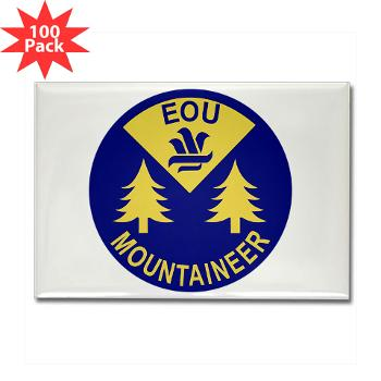 eou - M01 - 01 - SSI - ROTC - Eastern Oregon University - Rectangle Magnet (100 pack)