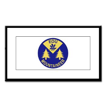 eou - M01 - 02 - SSI - ROTC - Eastern Oregon University - Small Framed Print