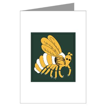 gatech - M01 - 02 - SSI - ROTC - Georgia Institute of Technology - Greeting Cards (Pk of 10)