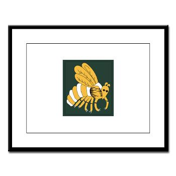 gatech - M01 - 02 - SSI - ROTC - Georgia Institute of Technology - Large Framed Print