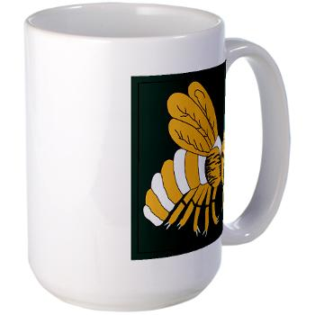gatech - M01 - 03 - SSI - ROTC - Georgia Institute of Technology - Large Mug