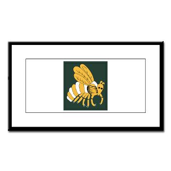 gatech - M01 - 02 - SSI - ROTC - Georgia Institute of Technology - Small Framed Print