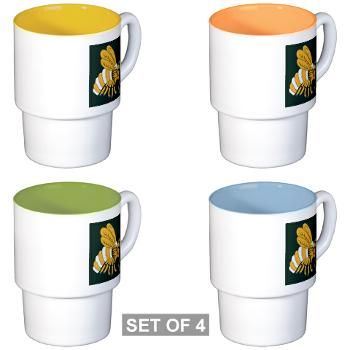 gatech - M01 - 03 - SSI - ROTC - Georgia Institute of Technology - Stackable Mug Set (4 mugs)