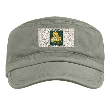 gatech - A01 - 01 - SSI - ROTC - Georgia Institute of Technology with Text - Military Cap