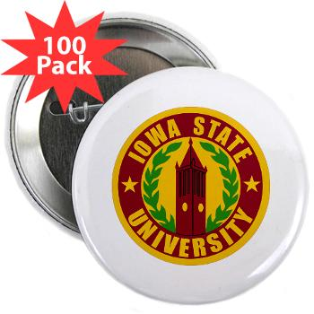 "iastate - M01 - 01 - SSI - ROTC - Iowa State University - 2.25"" Button (100 pack)"