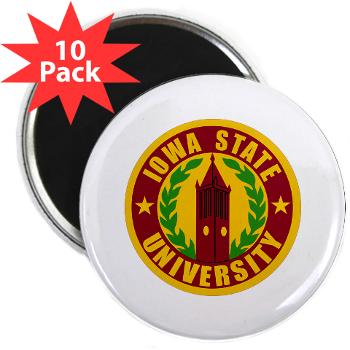 "iastate - M01 - 01 - SSI - ROTC - Iowa State University - 2.25"" Magnet (10 pack)"