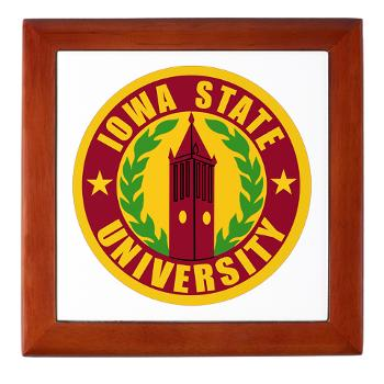 iastate - M01 - 03 - SSI - ROTC - Iowa State University - Keepsake Box