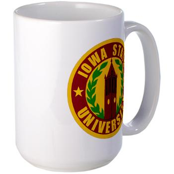 iastate - M01 - 03 - SSI - ROTC - Iowa State University - Large Mug
